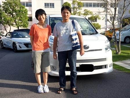 トヨタ VOXY ご納車 F様