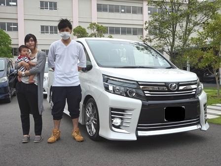 トヨタ VOXY ご納車 K様