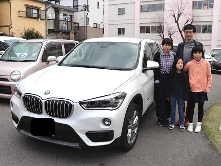 BMW X1 ご納車 T様