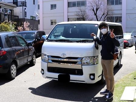 トヨタ ハイエース ご納車 Y様