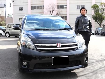 トヨタ アイシス ご納車 K様