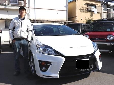 トヨタ プリウスG's ご納車 T様