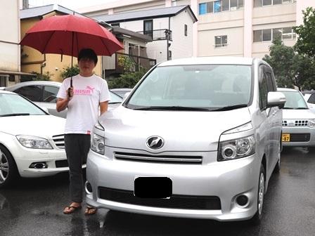 トヨタ VOXY ご納車 S様